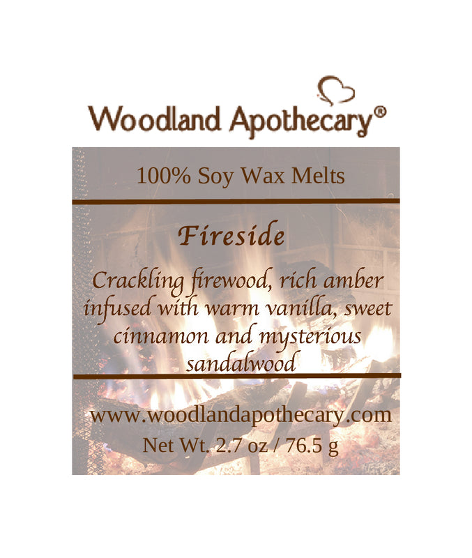 Fireside Soy Wax Melts | Woodland Apothecary®
