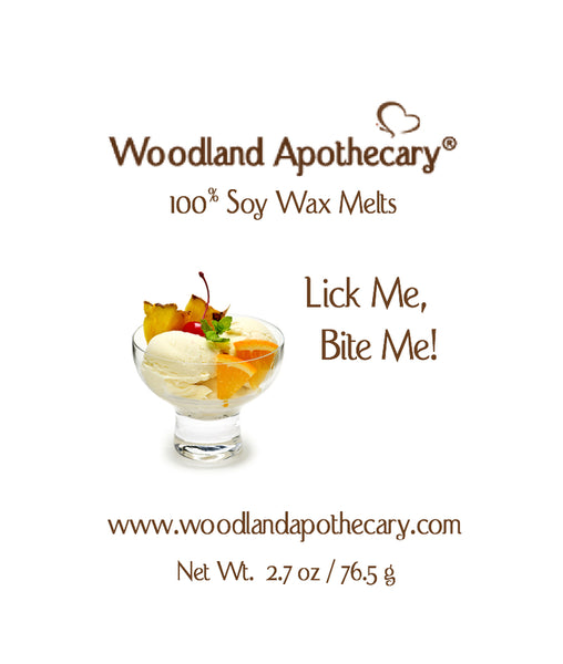 Lick Me, Bite Me Soy Wax Melts | Woodland Apothecary®