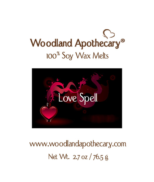Love Spell Soy Wax Melts | Woodland Apothecary®