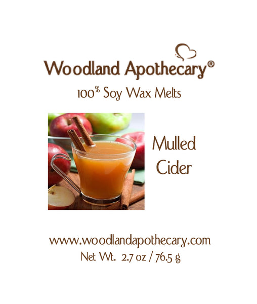 Mulled Cider Soy Wax Melts | Woodland Apothecary®