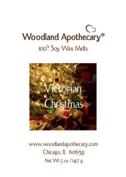 Victorian Christmas Soy Wax Melts | Woodland Apothecary®