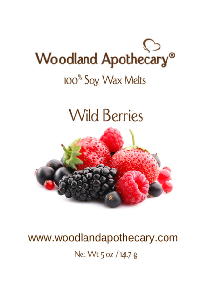 Wild Berries Soy Wax Melts | Woodland Apothecary®