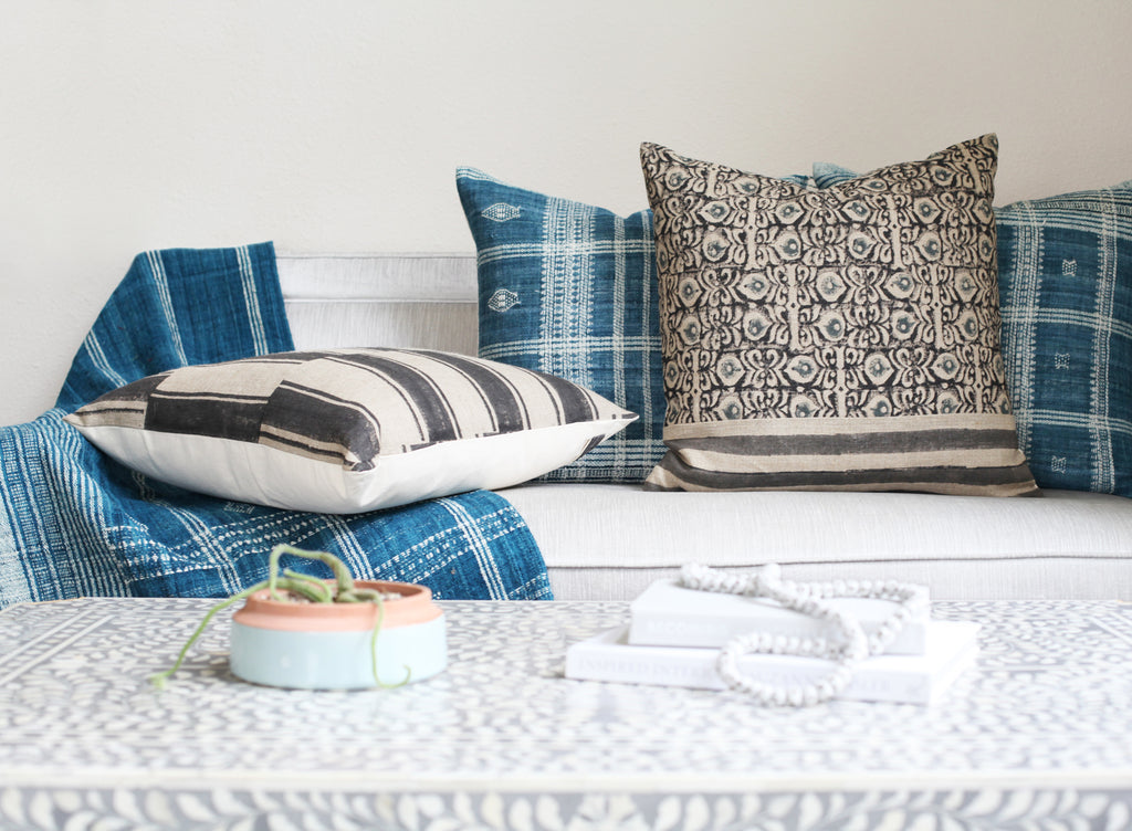 The Easiest Ways to Mix Pillow Patterns