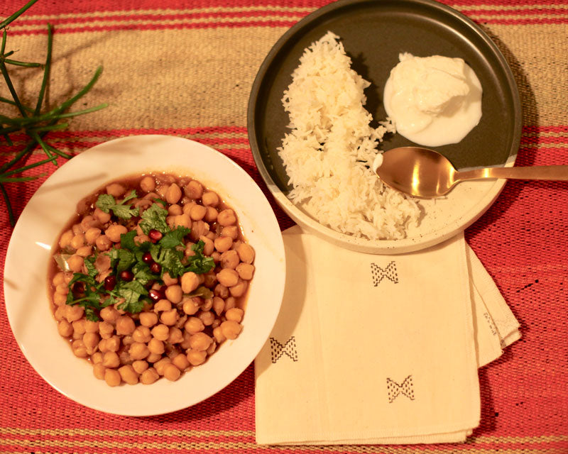 Simple, tasty Channa Masala just like how our ma made.