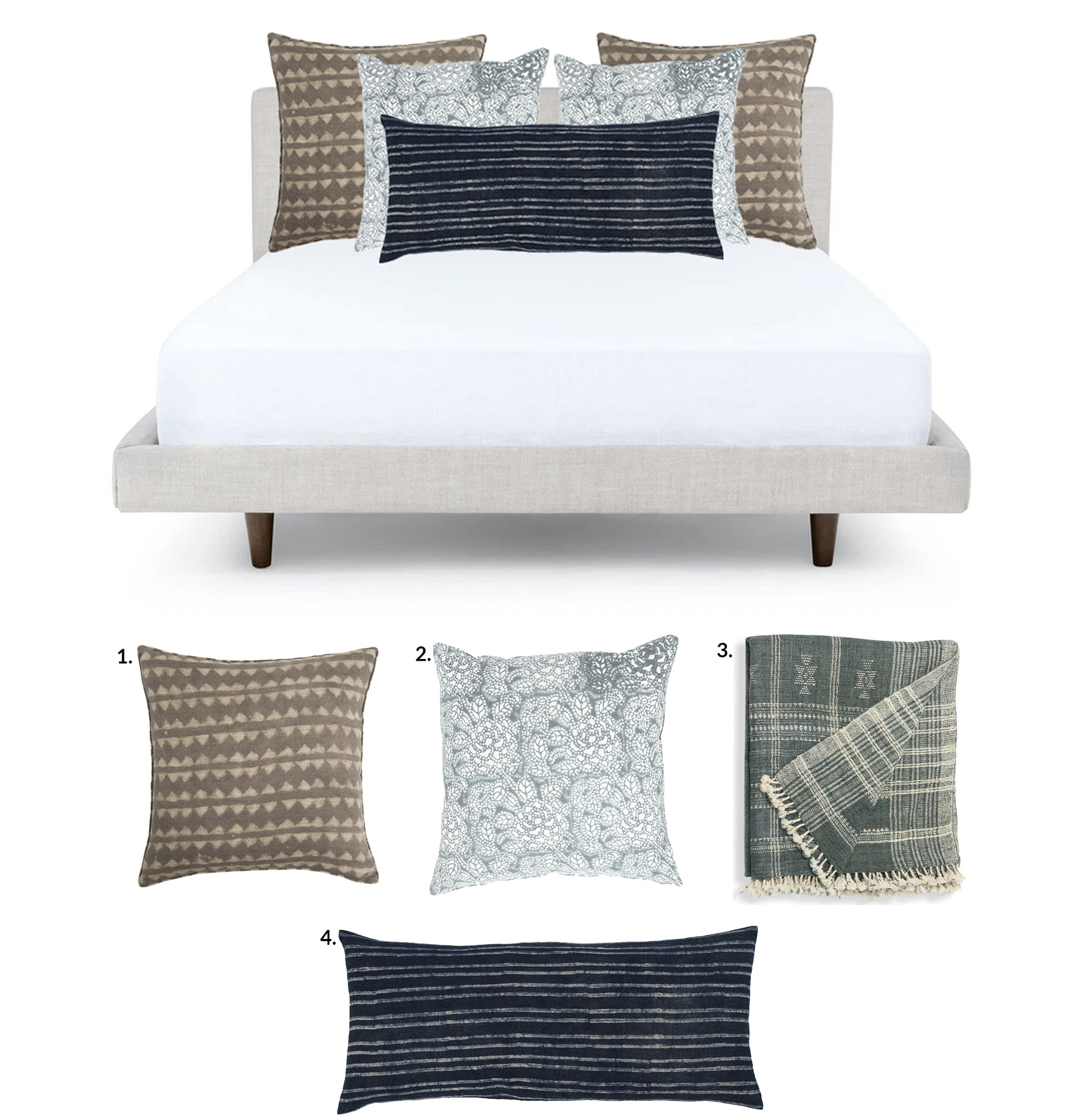 Bed Pillow Combo 5