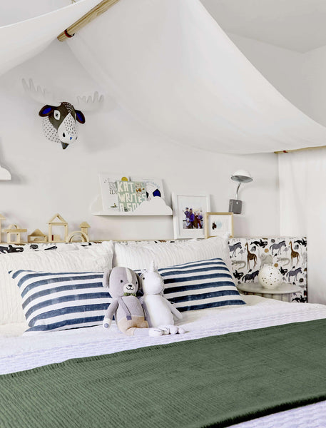 Emily Henderson's Mountain House Kids' Room