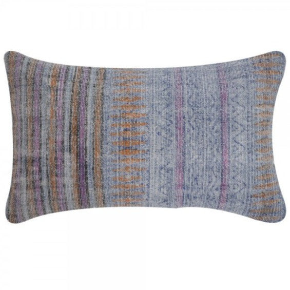 Handmade Indigo Overdyed Cotton Pillow