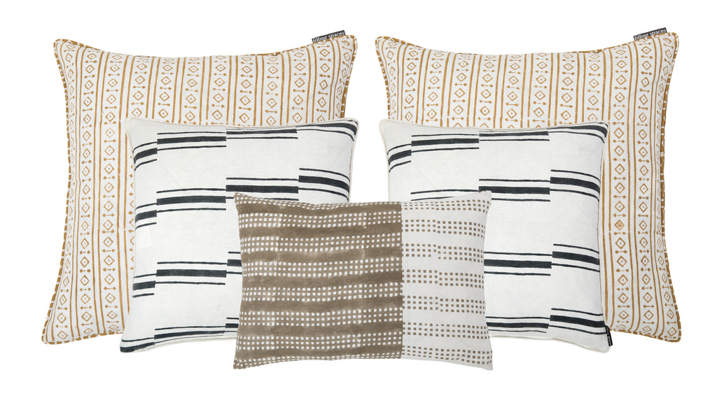 mix and match pillow sizes