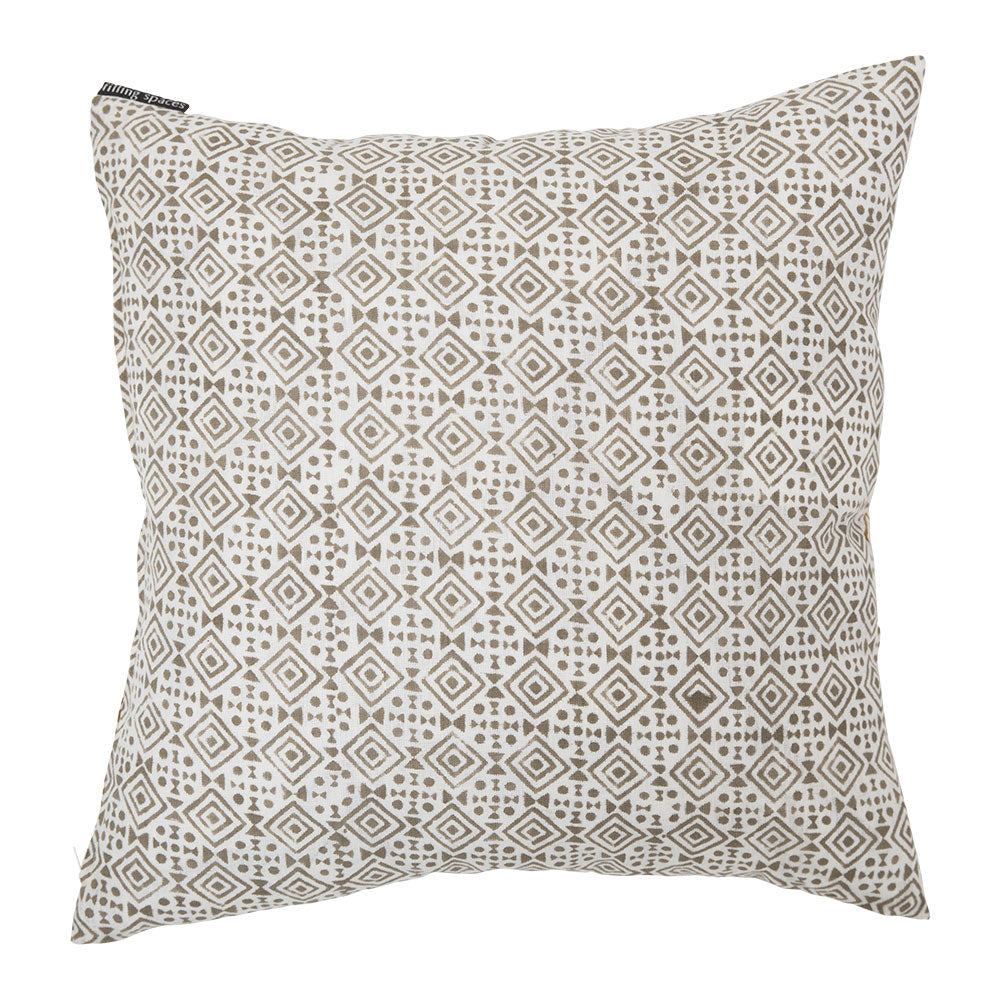 Kameko Gray geometric throw pillow