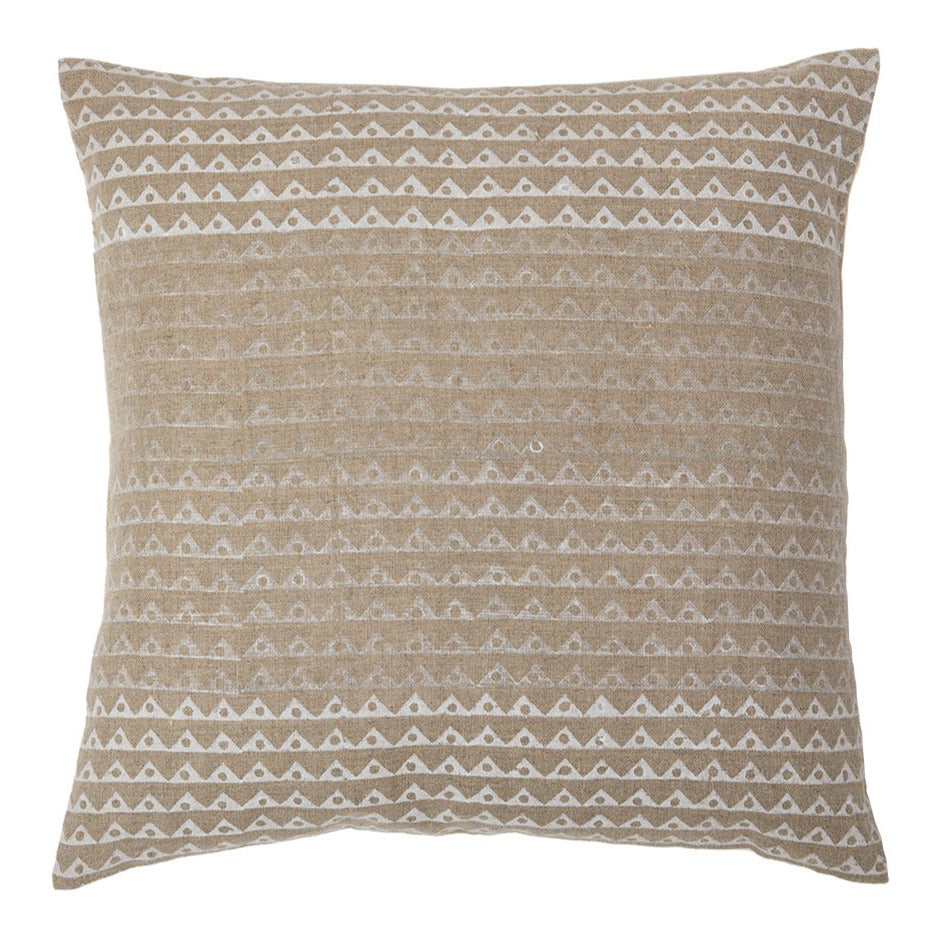 Koyota Shades of White ombre throw pillow