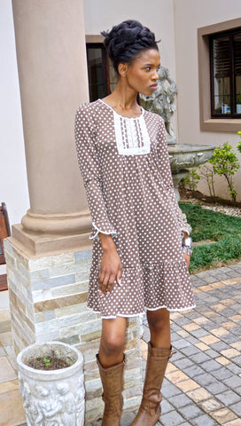 Polka Gypsey Dress
