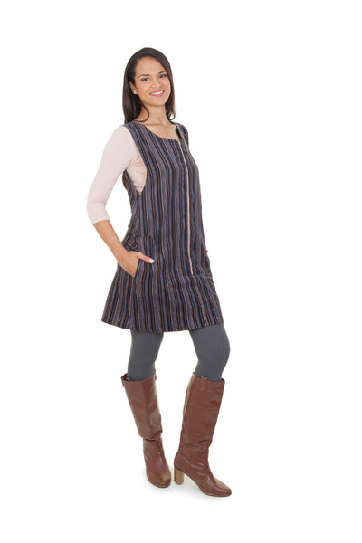 Corded Pinafore