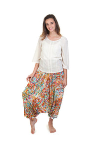 Printed Harem Pants ( Multi Colour )