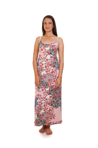 Strappy Maxi Dress (Floral)
