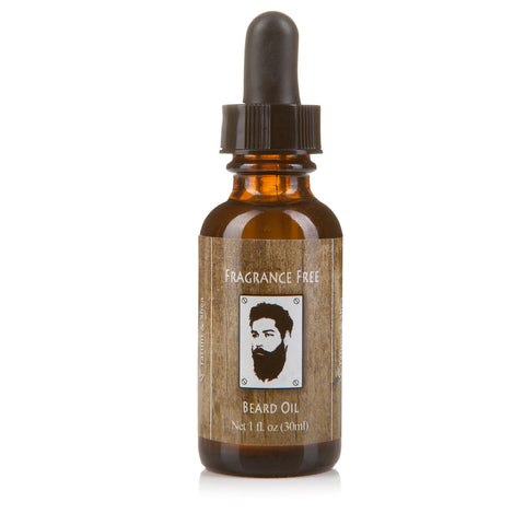Fragrance Free Beard Oil for Men