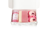 Spa Set - Rose - Soap, Bath Salts & Bath Bombs