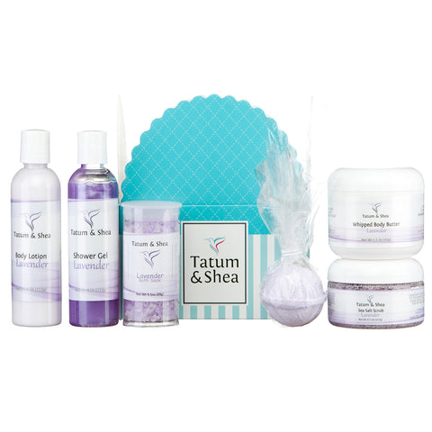 Spa Gift Set, 6 Pack, Lavender