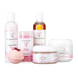 Spa Gift Set, 6 Pack, Rose
