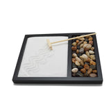 Zen Sand Rocks Rake Garden Kit Tabletop Gifts & Decor