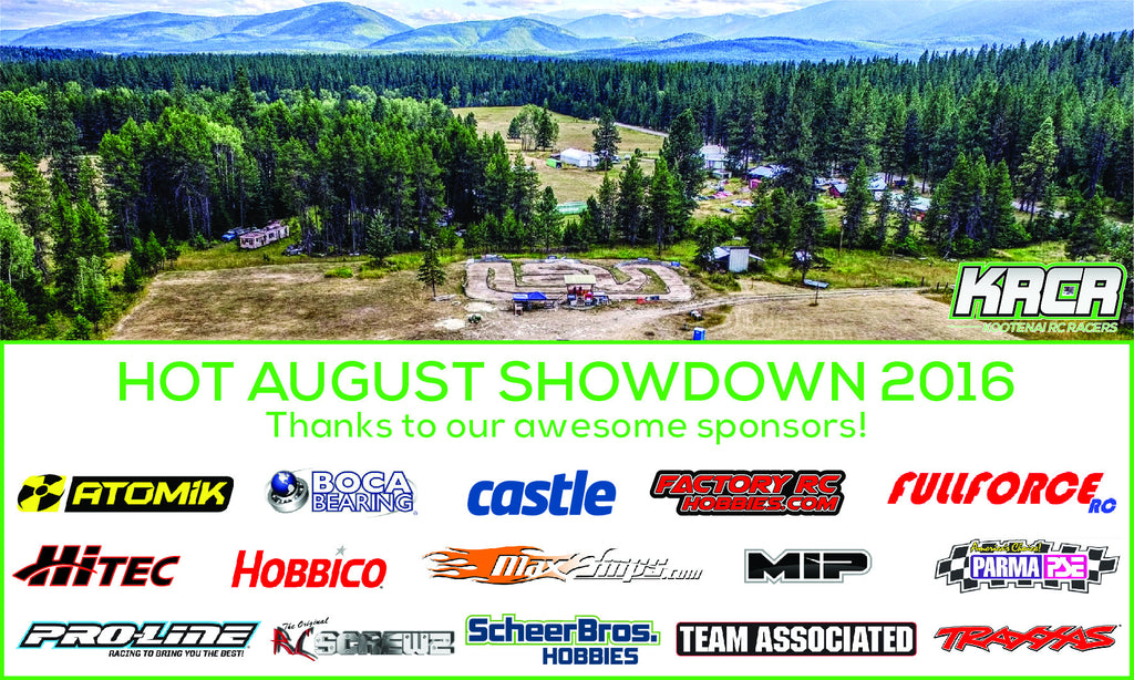 Thank You for Your Support: Kootenai RC Racers