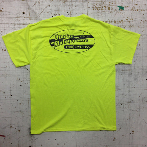 Flo Yellow Green Company T-Shirt