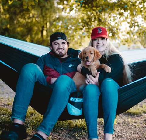 Bear Butt hammock camping with your dog