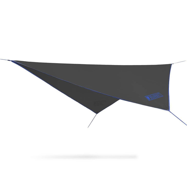 Black + Blue Rain Fly Hammock | Bear Butt