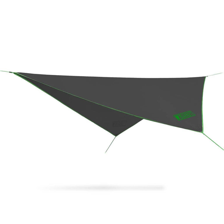 Black + Green Rain Fly Hammock | Bear Butt