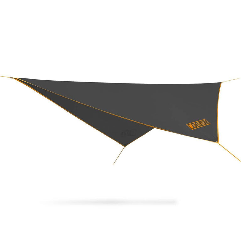 Black + Orange Rain Fly Hammock | Bear Butt