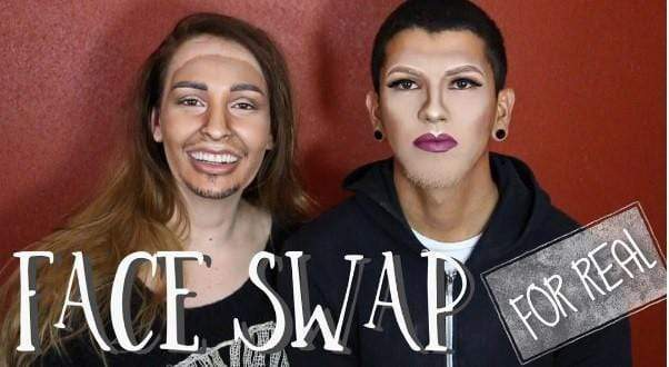 "Is this ""Face Swap"" Tutorial BlackFace?"