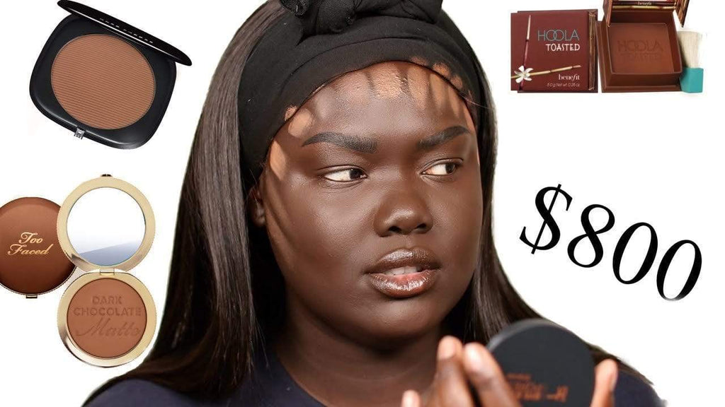 Bronzers for dark skin women