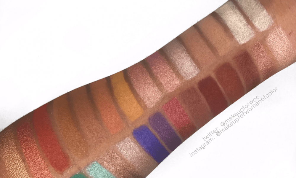 Jaclyn Hill X Morphe Palette Swatches On Dark Skin Mfmg Cosmetics Browse the best morphe product reviews as rated by temptalia and our community as well as view morphe swatches and dupes in our database. makeup for melanin girls