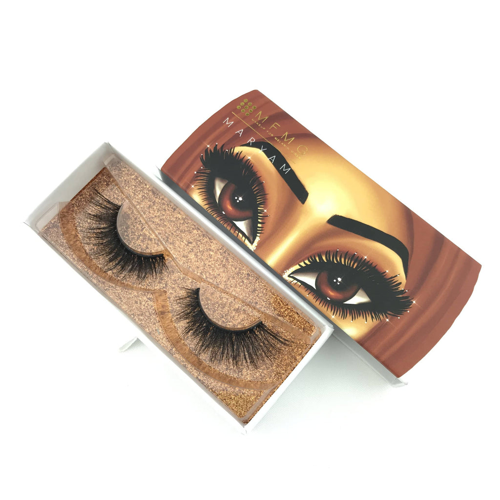 Maryam Cruelty-Free Silk Lashes