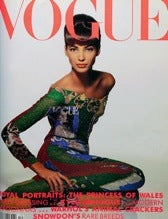 Chateau D' Lanz Black Licorice Vogue Magazine 1990