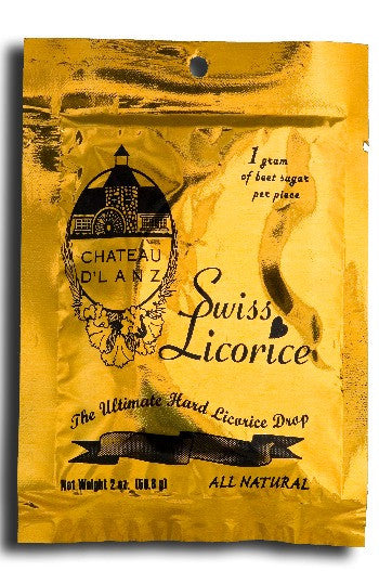 Chateau D' Lanz Black Licorice Single Bag