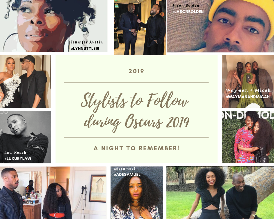 Top Five Black Stylists To Follow for Oscars Red Carpet Looks
