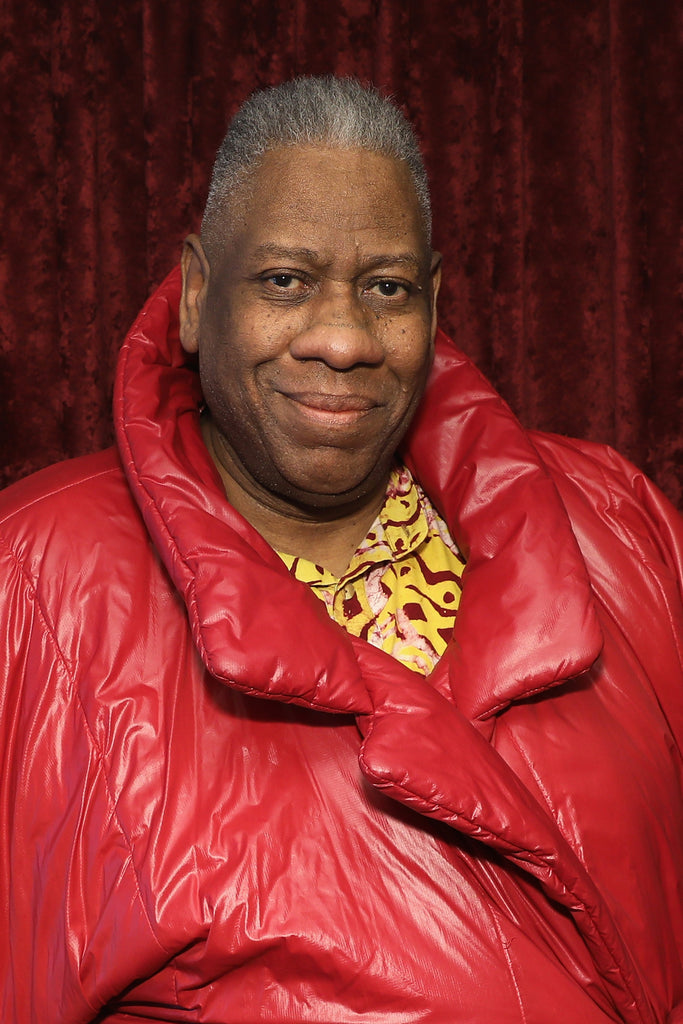 "Style Icon, André  Leon Talley writes a ""Tell All"" Memoir: ""The Chiffon Trenches"""