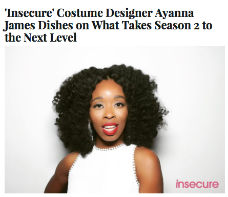 Issa Rae's Style Master and Designer for HBO's Insecure Ayanna James