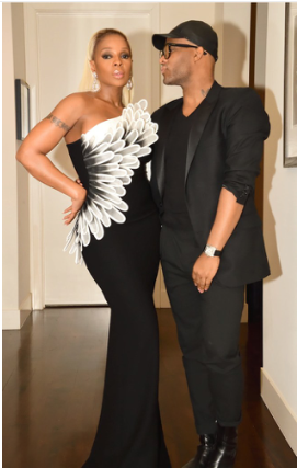 Stylist Law Roach and Oscar Nominated Mary J Blige Style for Awards Season