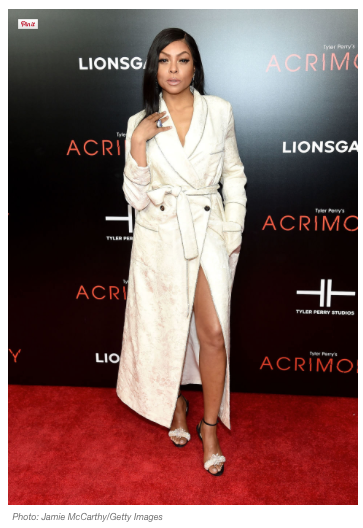 STYLED BY JASON BOLDEN: TARAJI P. HENSON WILL MAKE YOU WANT TO WEAR A ROBE TO YOUR NEXT BLACK TIE AFFAIR