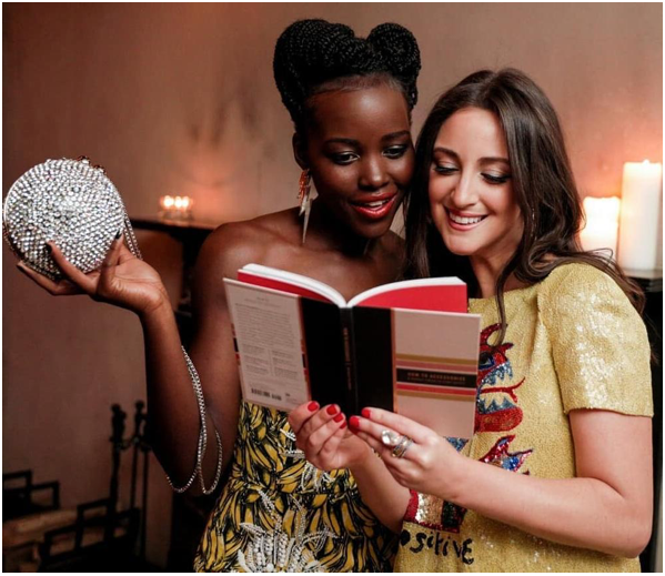 Lupita Nyong'o Supports Stylist Micaela Erlanger's new Book Launch