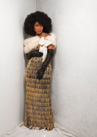 W Magazine Features Angela Bassett styled by Ruth Carter