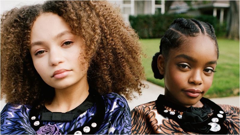 Marsai Martin and Nico Parker Cover Teen Vogue's April issue