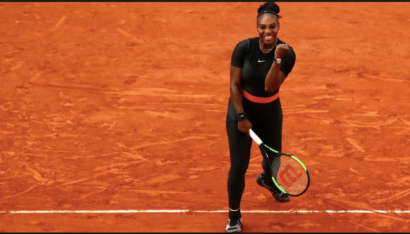 Black Catsuits are Made for Serena Williams