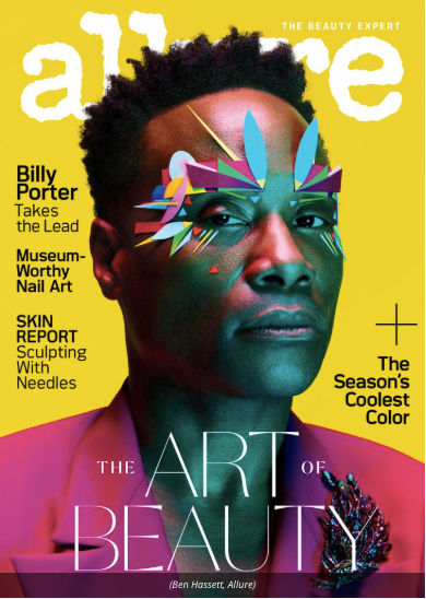 Here's Why Billy Porter is the first man EVER to grace the cover of Allure Magazine