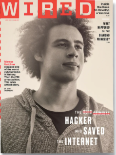 The Black Brit who Saved the World covers the June issue of WIRED