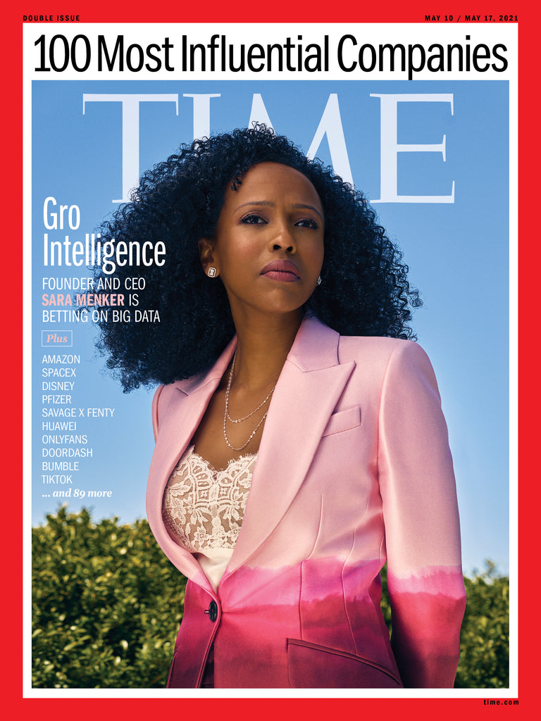 Sara Menker Covers TIME Magazine's Most Influential Companies Issue