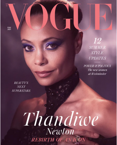 Thandiwe (formerly Thandie) Newton is the latest cover star for British Vogue, gracing its May issue