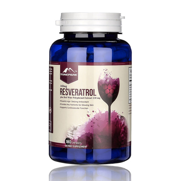 TONEPEAK Resveratrol Plus Red Wine Polyphenol Extract