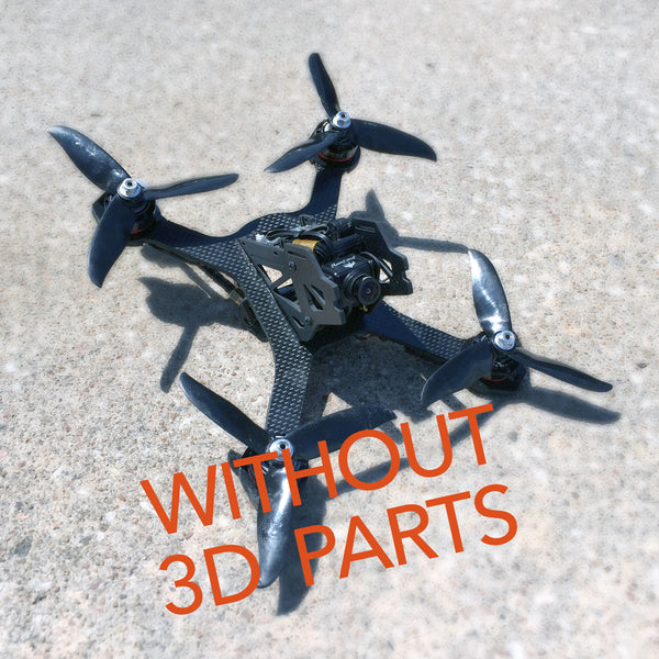 AvocadoXL 220 Racing Drone Kit ( no 3D printed parts! )